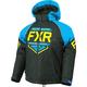 Youth Black/Blue/Hi-Vis Clutch Jacket