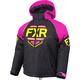 Youth Black/Elec Pink/Hi-Vis Clutch Jacket