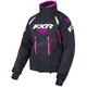 Womens Black/Fuchsia Adrenaline Jacket