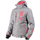 Women's Grey Linen/Coral Fresh Jacket
