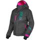 Women's Black Heather/Mint/Electric Pink Fresh Jacket