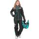 Women's Black/Charcoal /Mint Elevation Lite Dri-Link 2pc Monosuit