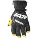 Women's Black/White CX Short Cuff Gloves
