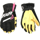 Women's Black/Fuchsia CX Short Cuff Gloves