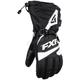 Black/White Fuel Gloves