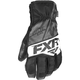 Black/Charcoal/White Fuel Short Cuff Gloves