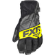 Black/Charcoal/Hi-Vis Fuel Short Cuff Gloves