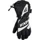 Women's Black/White Fusion Gloves