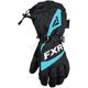 Women's Black/Mint Fusion Gloves