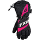 Women's Black/Fuchsia Fusion Gloves
