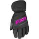Child's Black/Fuchsia Octane Gloves