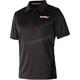 Black/Orange Infinite Tech Polo Shirt