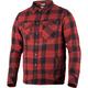 Maroon/Black Timber Plaid Shirt