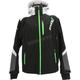 Black/Lime Renegade Softshell Jacket