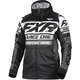 Black/White Race Division Tech Zip Hoody