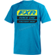 Blue/Hi-Vis Race Division T-Shirt