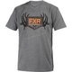 Gray Heather/Orange Antler T-Shirt