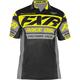 Black/Hi-Vis Race Division Tech Polo Shirt