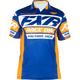 Navy/Orange Race Division Tech Polo Shirt