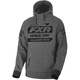 Gray Heather/Black Race Division Pullover Hoody