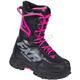Women's Black/Fuchsia X-Cross Speed Boots