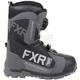 Black/Charcoal Backshift Boa Boots
