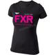 Women's Black/Fuchsia Helium T-Shirt