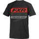 Youth Black/Lava Race Division T-Shirt