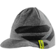 Gray Heather Wool Icon Peaked Beanie - 181613-0600-00