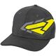Charcoal Heather/Hi-Vis Split Hat