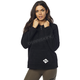 Women's Black Road Raider Sherpa Pullover Hoody