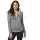 Women's Heather Graphite Thorn Airline Long Sleeve Shirt