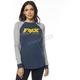Women's Navy Race Team Long Sleeve Shirt