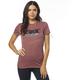 Women's Rose Retro Fox SS Crew T-Shirt