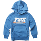 Youth Dusty Blue Throwback Pullover Hoody