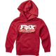 Youth Cardinal Throwback Pullover Hoody