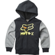 Youth Black Supercharged Sherpa Zip Hoody