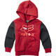 Youth Cardinal Supercharged Sherpa Zip Hoody