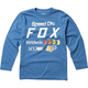 Youth Dusty Blue Murc Long Sleeve Shirt