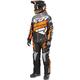 Black/Gray Fade/Orange Boost Lite Dri-Link 2-Piece Monosuit