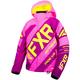 Child's Elec Pink/Wineberry/Hi-Vis CX Jacket