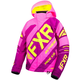 Youth Elec Pink/Wineberry/Hi-Vis CX Jacket