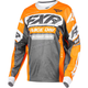 Charcoal/Orange/Gray Cold Cross RR Jersey