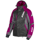 Womens Black/Charcoal/Wineberry Vertical Pro Jacket