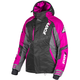 Womens Black/Charcoal/Fuchsia Vertical Pro Jacket