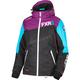 Women's Black/Wineberry/Aqua Vertical Edge Jacket