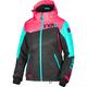 Women's Black/Coral/Mint Vertical Edge Jacket