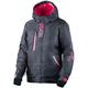 Women's Char Jersey Heather/Fuchsia Pulse Jacket