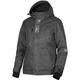 Women's Black Linen/Silver Pulse Jacket