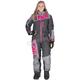 Women's Charcoal/Grey/Fuchsia Squadron Monosuit